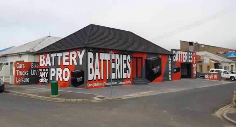 NEW BATTERY PRO (AUTOMOTIVE BATTERIES) DEALERSHIPS